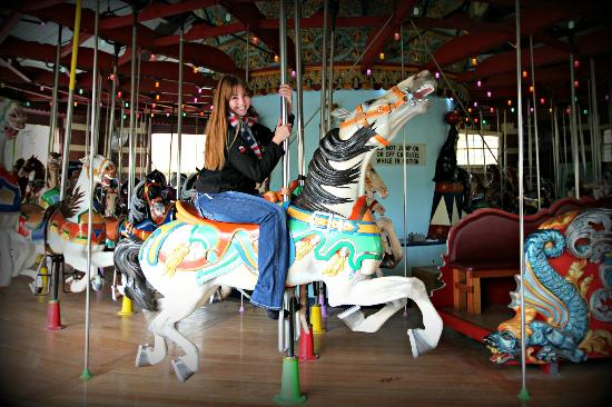 Central Park Carousel: Great photo op for everyobe!