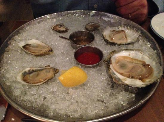 Island Creek Oyster Bar: Wild Belon!!  Hope they have some when you come!