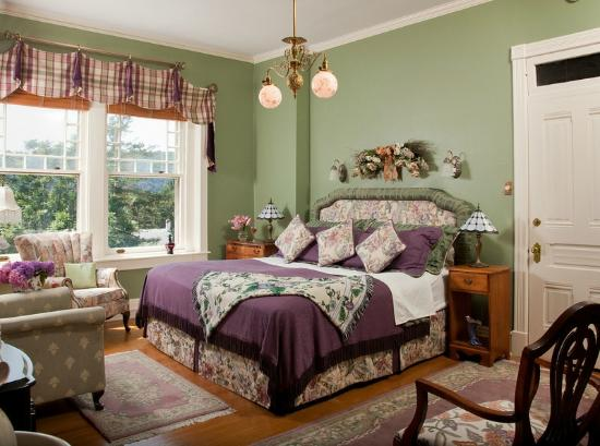 B.F. Hiestand House Bed & Breakfast: Vanderslice Suite Bedroom
