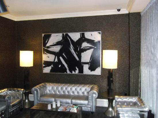 Moderne Hotel: Lounge area