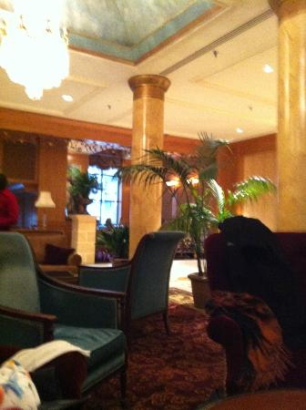 The Saint Paul Hotel: View of part of the lobby