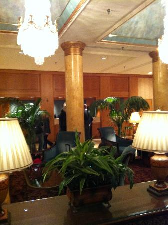 The Saint Paul Hotel: View of part of the hotel lobby