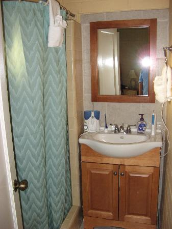 Buckeye Tree Lodge: Bathroom