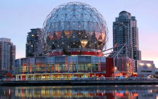 Vancouver, Kanada: The Geodesic Dome