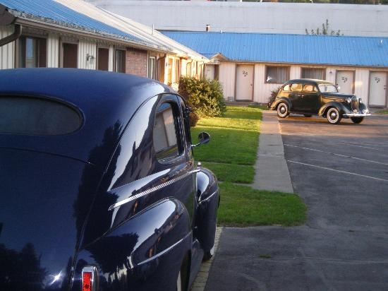 Falls Motel: We love our guests that drive really cool cars.
