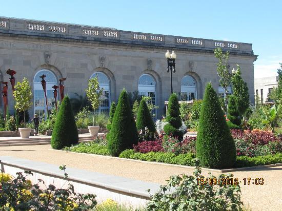 Botanical gardens picture of washington dc district of columbia tripadvisor for Botanical gardens dc christmas
