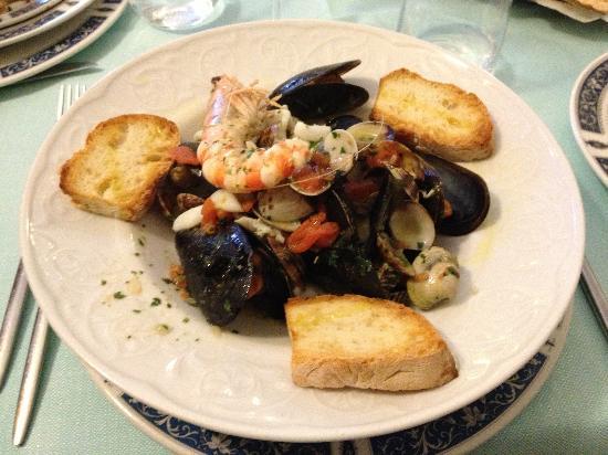 Trattoria Vittoria : Zuppetta di molluschi