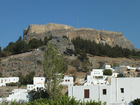 Lindos Mare Hotel: lindos town