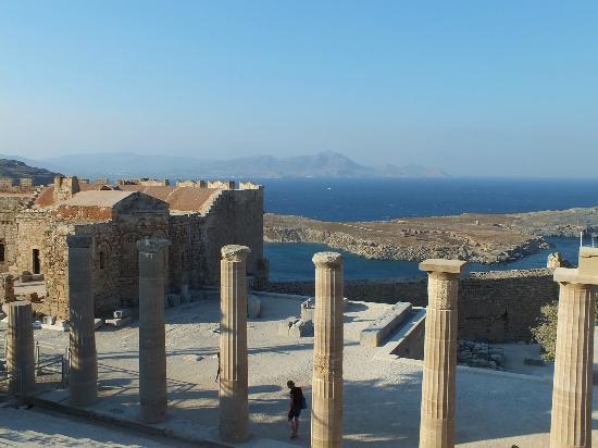 Lindos Mare Hotel: acropolis