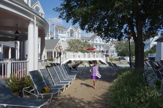 Disney's Beach Club Resort: Near the pool