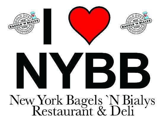 New York Bagels `N Bialys: Logo
