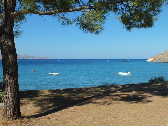 Lindos Mare Hotel: beach