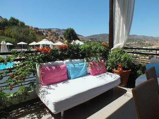 Lindos Mare Hotel: pool restaurant
