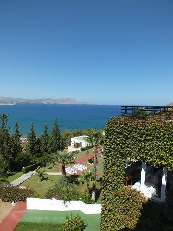 Lindos Mare Hotel: gardens