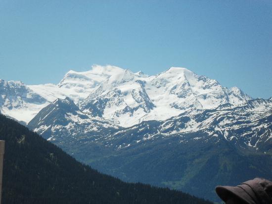 Le Namasté : la vue de la terrase splendide !!!