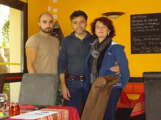 Ca' Lidovine : Marco, Domenico e Rosanna