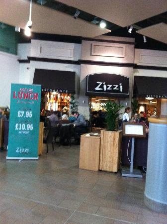 Zizzi - Sheffield Meadowhall