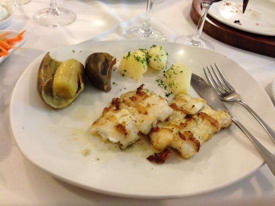 O Regional Restaurante: Scabbard fish with fried banana