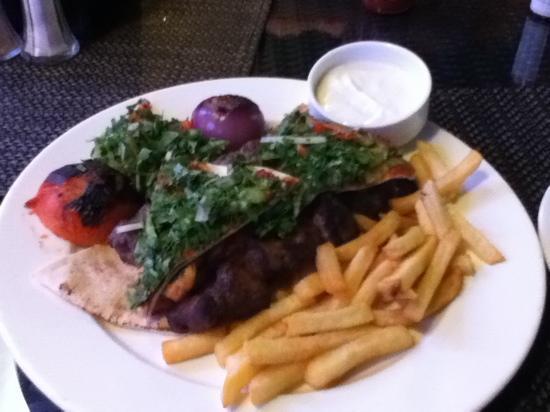 Al Mourjan : mixed grill (steak, lamb, beef)
