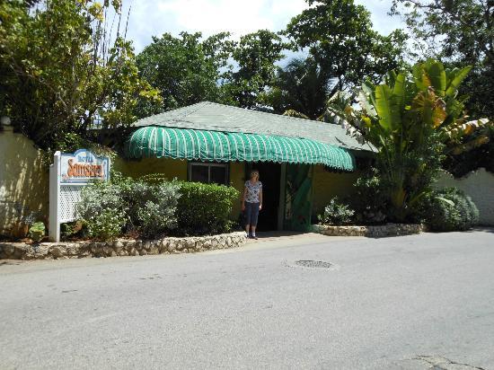 Samsara Cliff Resort: Entrance
