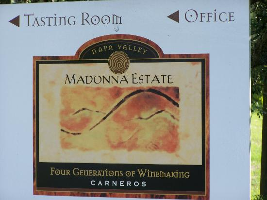 Napa Valley Wine Country Tours: Madonna Estate