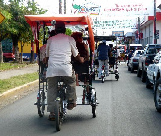Macua Tours & Travel: Rickshaws in Rivas ~ great way to see everything!