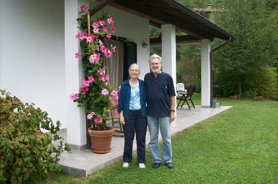 Il Bogno B&B: Lerna and Bill
