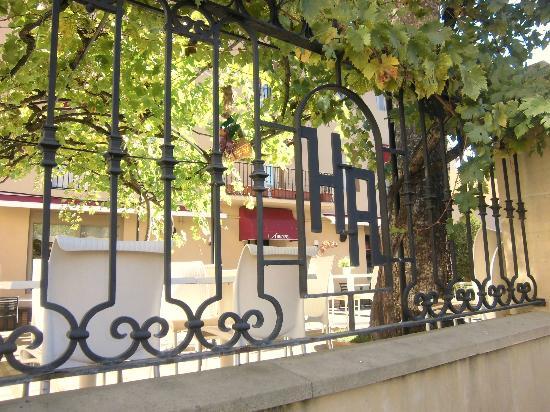 Hotel Arrope: Terraza