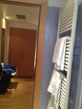 Best Western Hotel Bologna: another hot towel rail