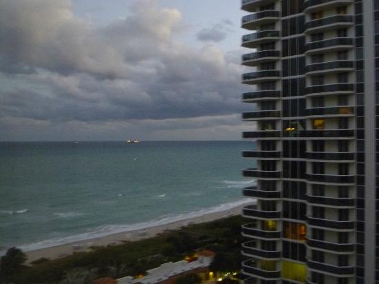 Miami Beach Resort and Spa: Ocean view from room 1416