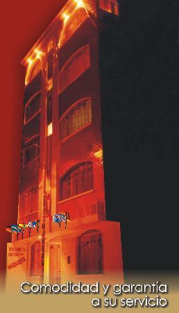 Hotel Margarita: Fachada