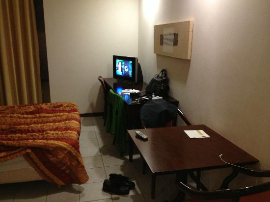 Rio Aeroporto Hotel: TV could be better