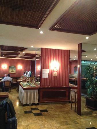 Rio Aeroporto Hotel: restaurant/breakfast