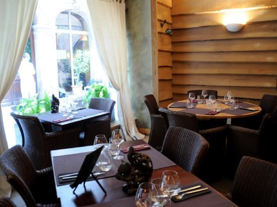 Restaurant Petit Ours: L'entrée