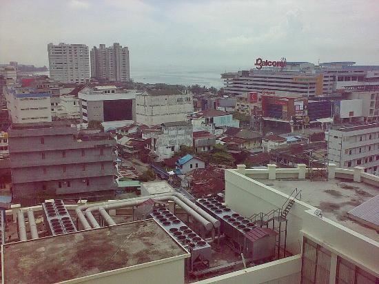 Hotel Menara Bahtera: 9th floor view