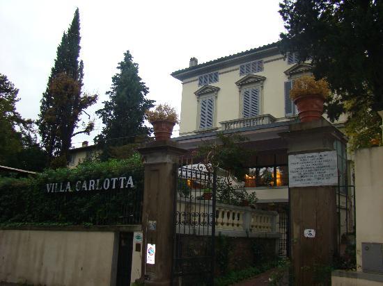 Villa Carlotta Hotel: Fachada do Hotel