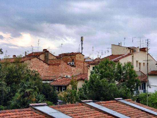 Hotel Kursaal Ausonia : View from our window