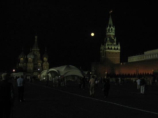Den Røde Plass: Full Moon in Red Square