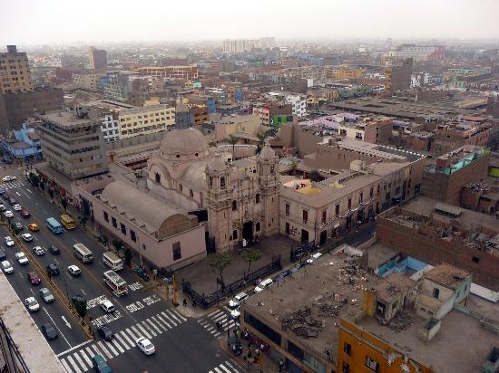 Pension Ibarra: Foto desde la terraza