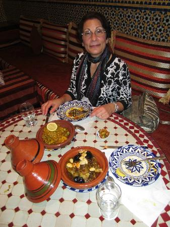 Riad Ahlam: Tangine for dinner