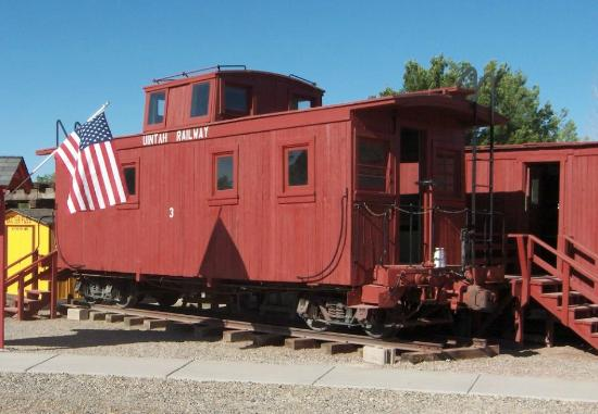 Grand Junction, CO: Uintah Railway Caboose