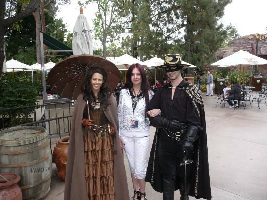 Universal Studios Hollywood: Elena,one more Elena(me)and Zorro