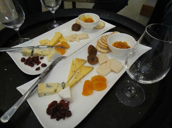 Nautilus Estate: Cheese platter