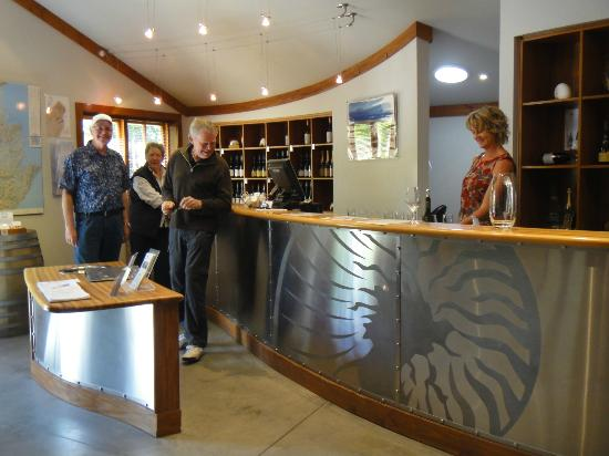 Nautilus Estate: Cellar door tasting room