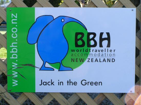 Jack in the Green Backpackers: We are a member of BBH