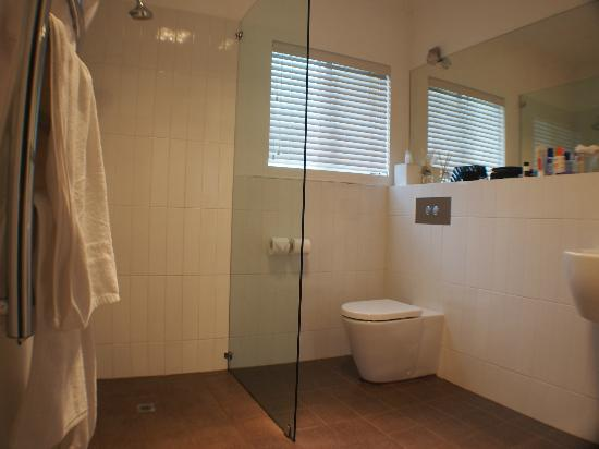 Llewellin's Guest House: Wetroom-style bathroom (shower only)
