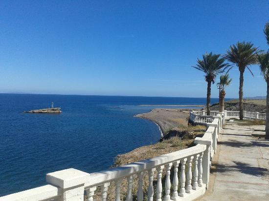 Hotel el Morro: la terrasa