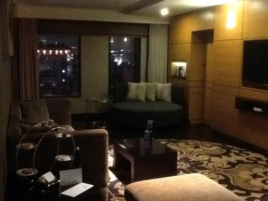 Hilton Beijing Wangfujing: living room