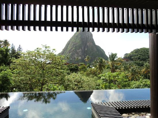 Boucan by Hotel Chocolat: View from Lux Lodge 7