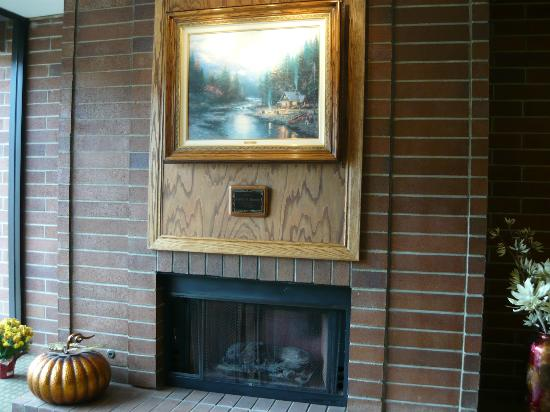 Park Plaza Resort : Fireplace